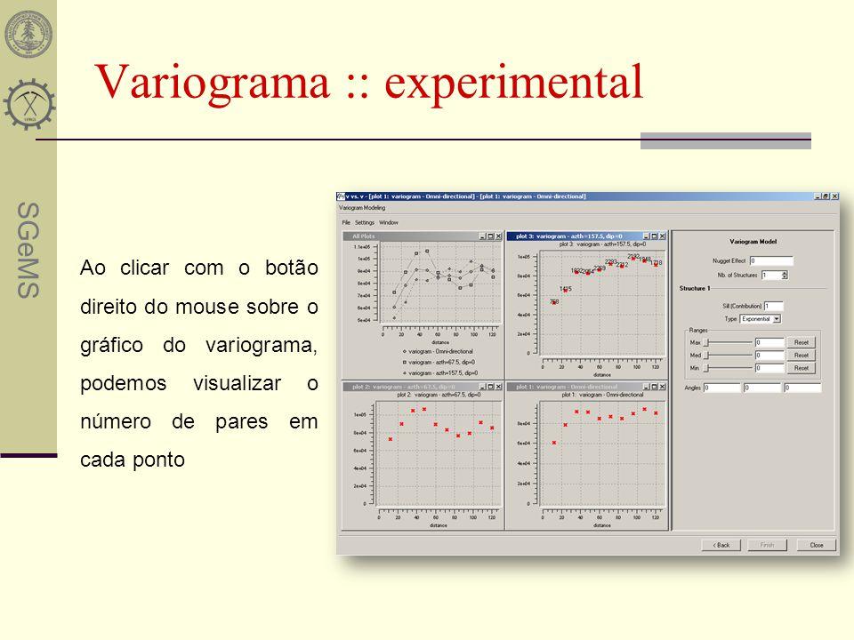 Variograma :: experimental