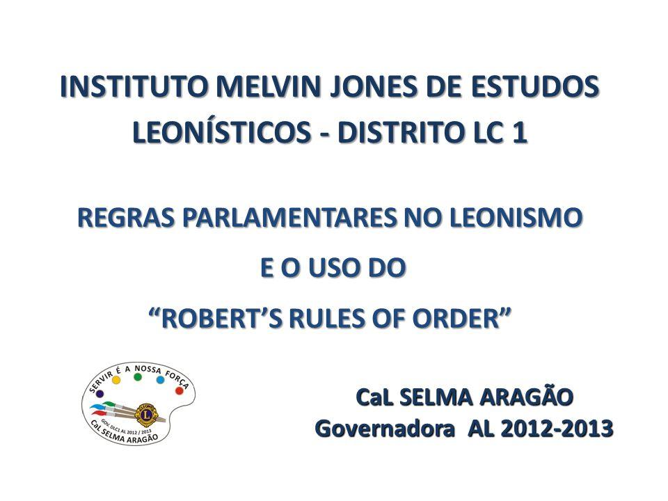 INSTITUTO MELVIN JONES DE ESTUDOS LEONÍSTICOS - DISTRITO LC 1