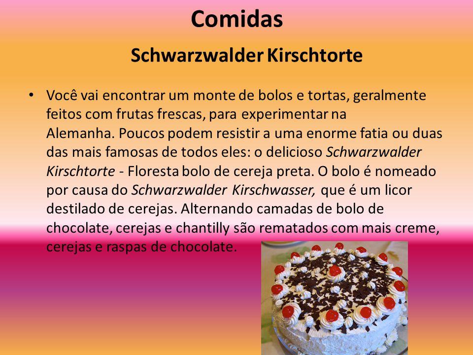 Comidas Schwarzwalder Kirschtorte