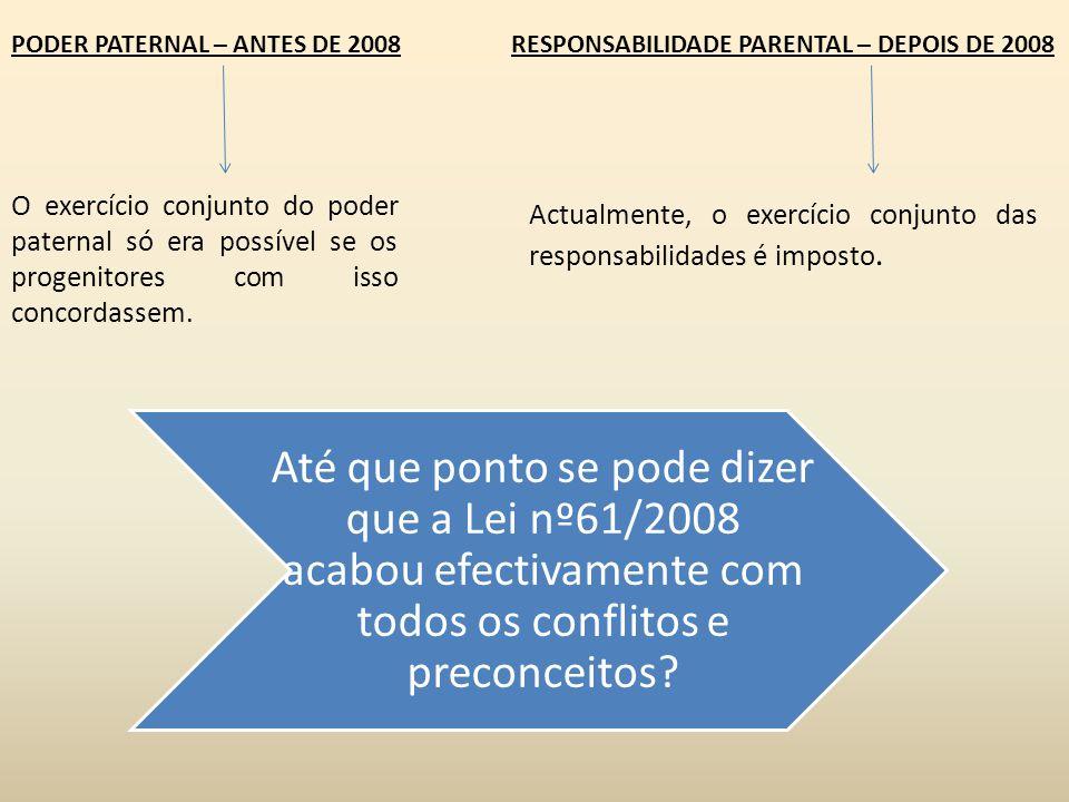 PODER PATERNAL – ANTES DE 2008