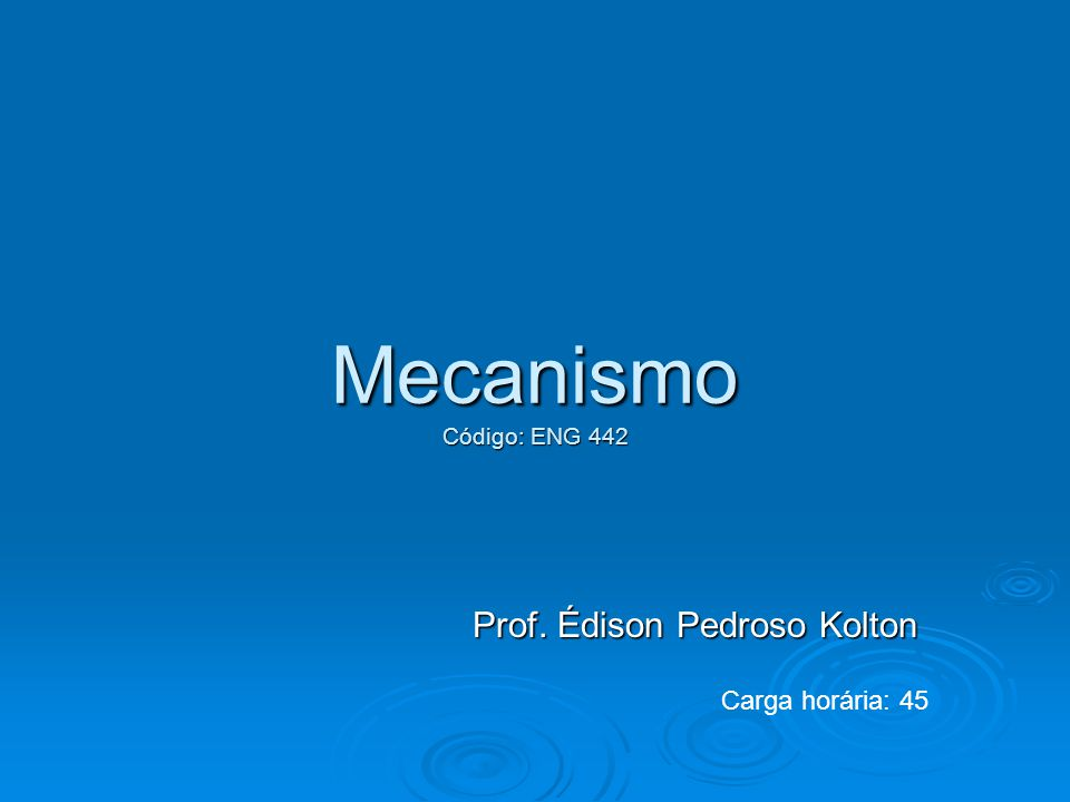 Prof. Édison Pedroso Kolton