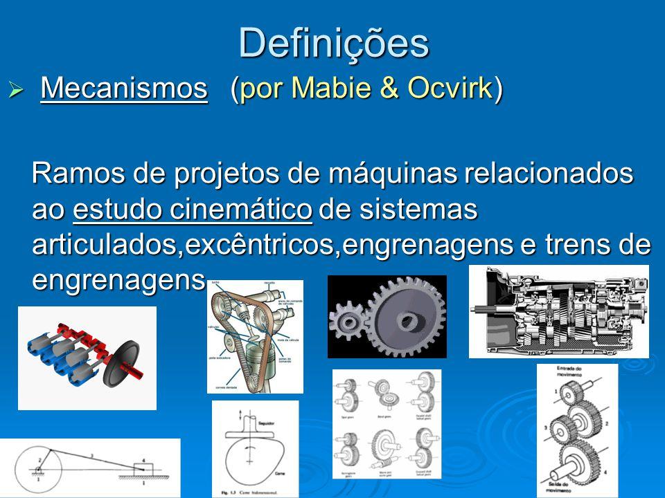 Definições Mecanismos (por Mabie & Ocvirk)