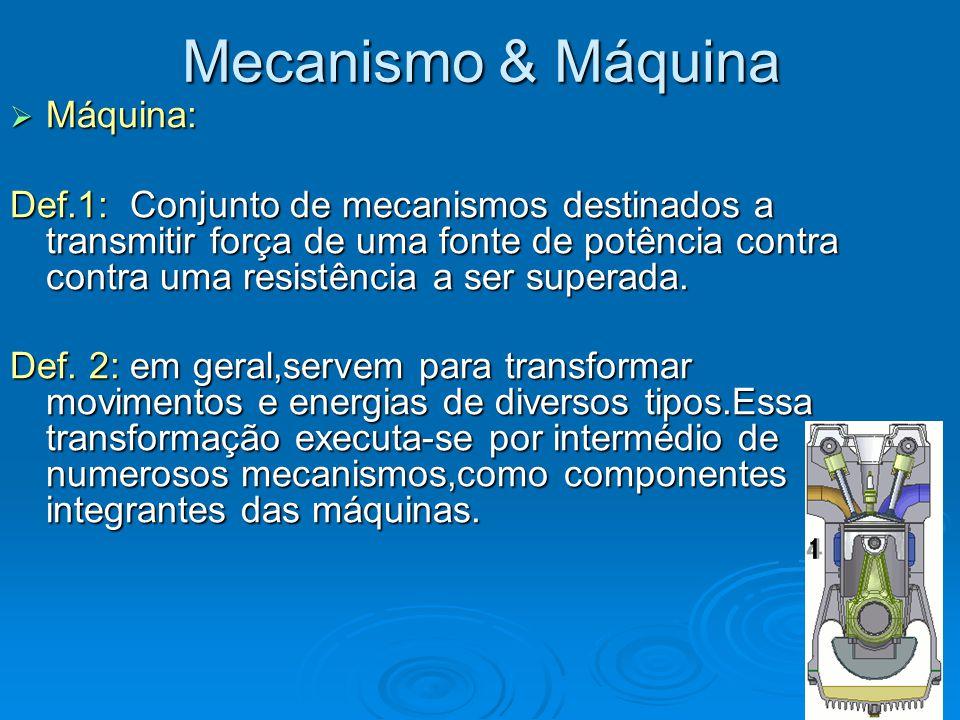 Mecanismo & Máquina Máquina: