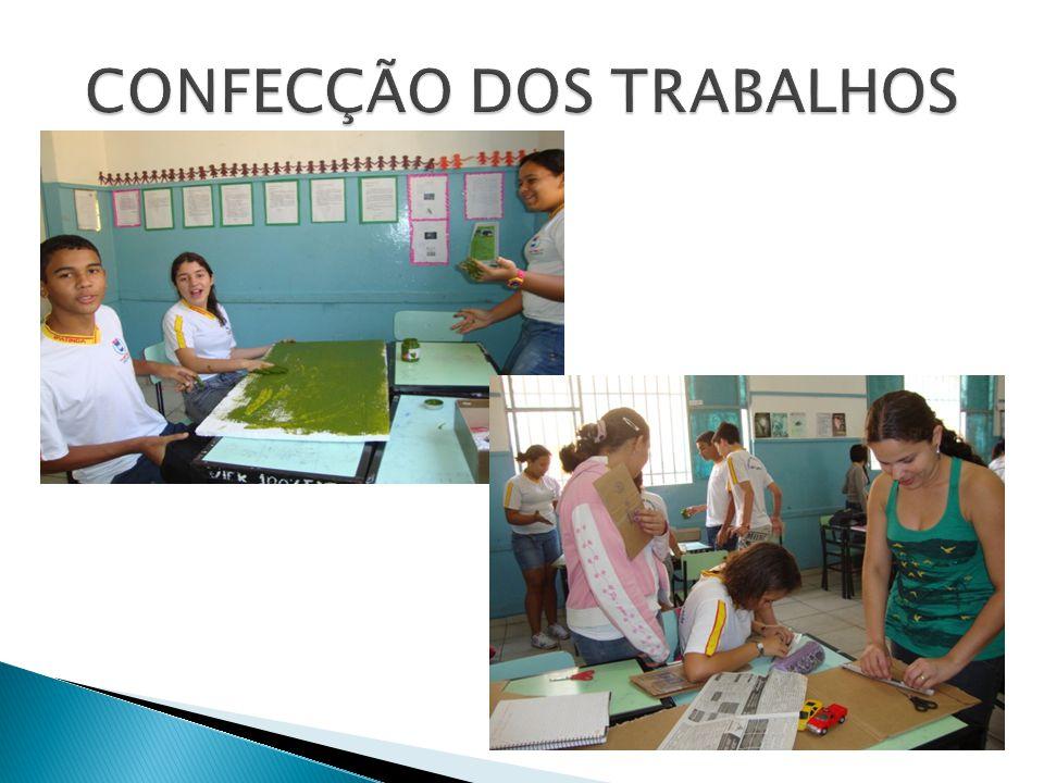 CONFECÇÃO DOS TRABALHOS
