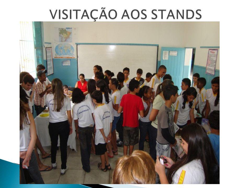 VISITAÇÃO AOS STANDS