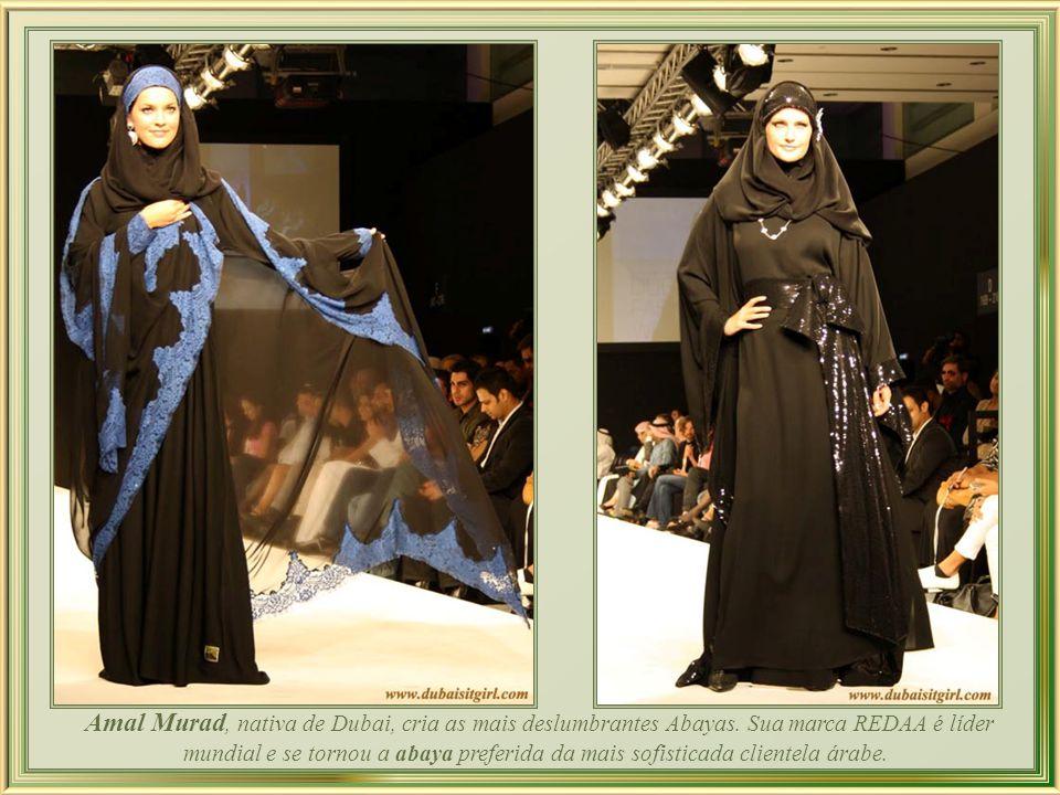 Amal Murad, nativa de Dubai, cria as mais deslumbrantes Abayas