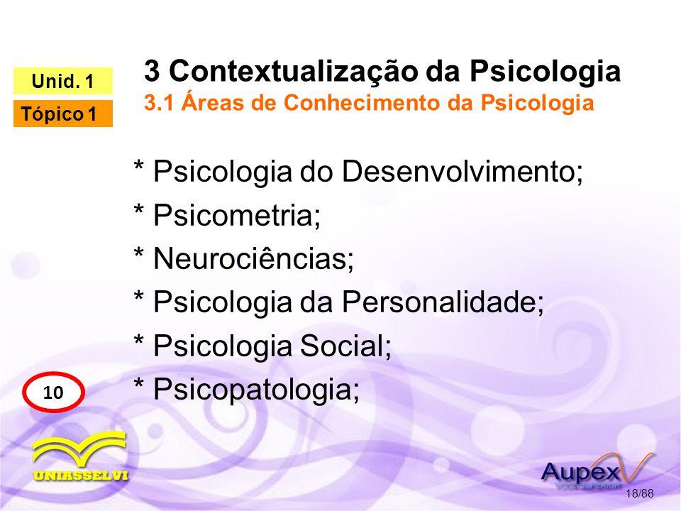 3 Contextualização da Psicologia 3