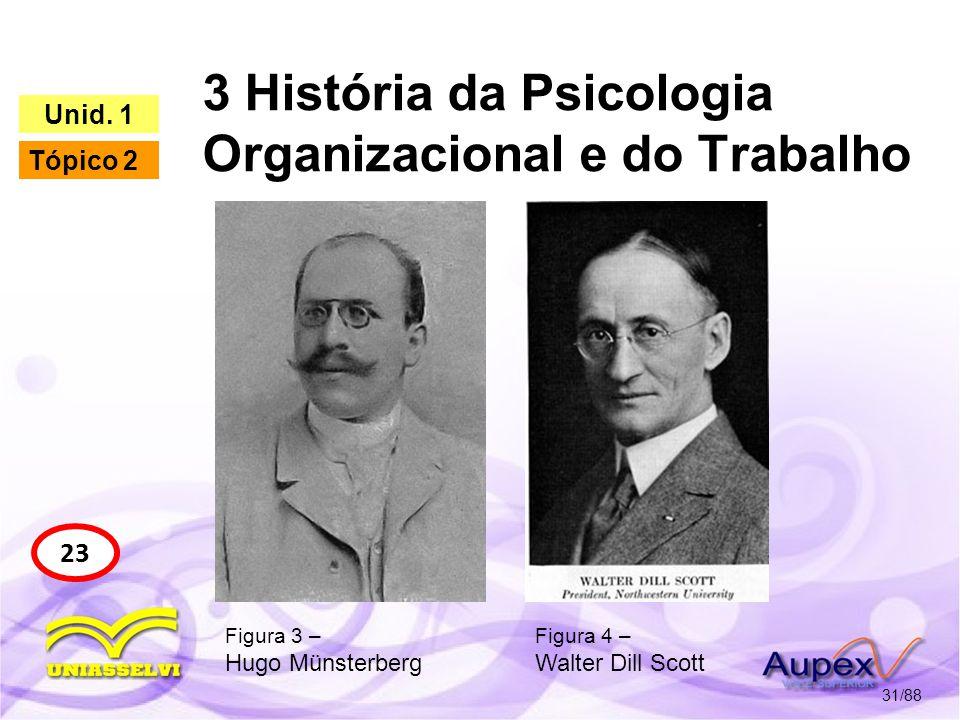 3 História da Psicologia Organizacional e do Trabalho