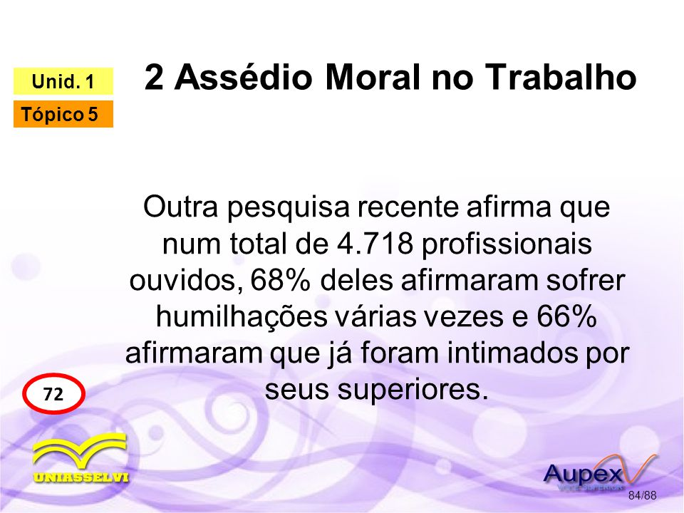 2 Assédio Moral no Trabalho