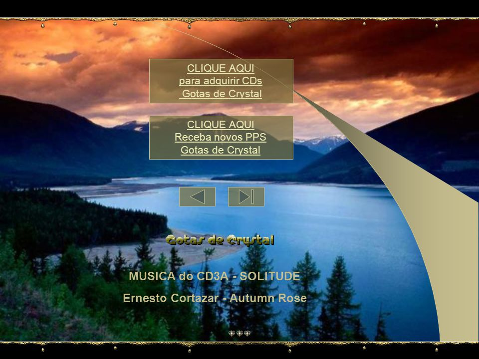 MUSICA do CD3A - SOLITUDE Ernesto Cortazar - Autumn Rose
