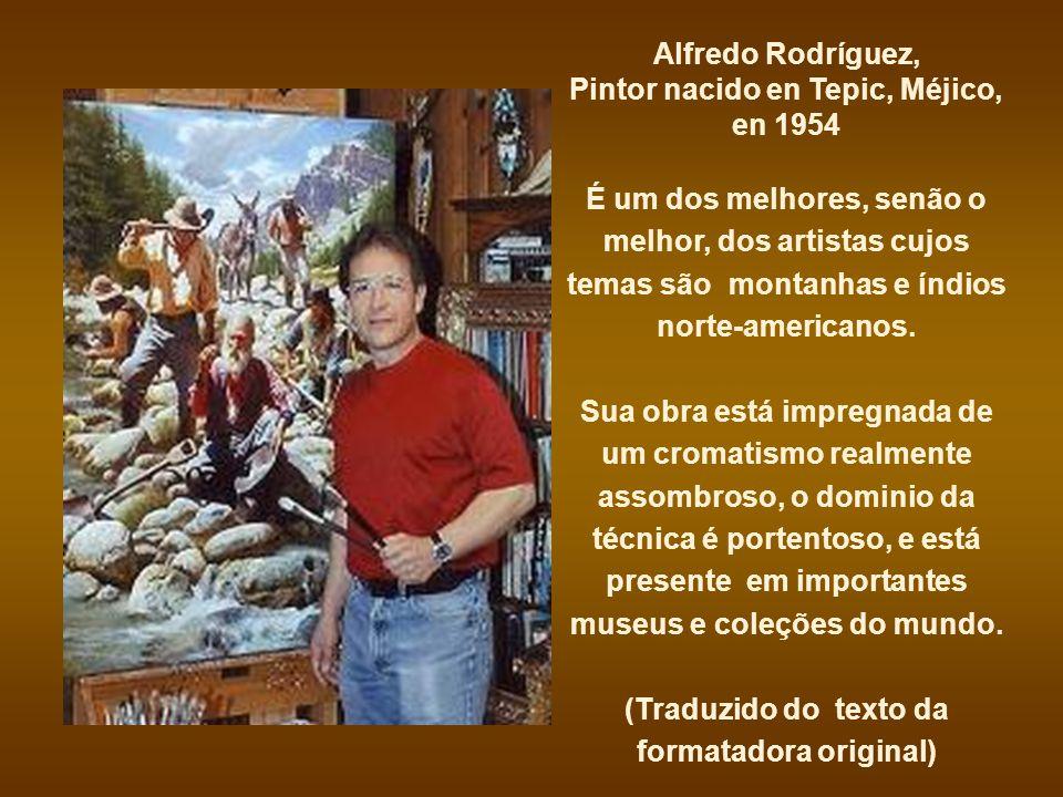 Pintor nacido en Tepic, Méjico, en 1954