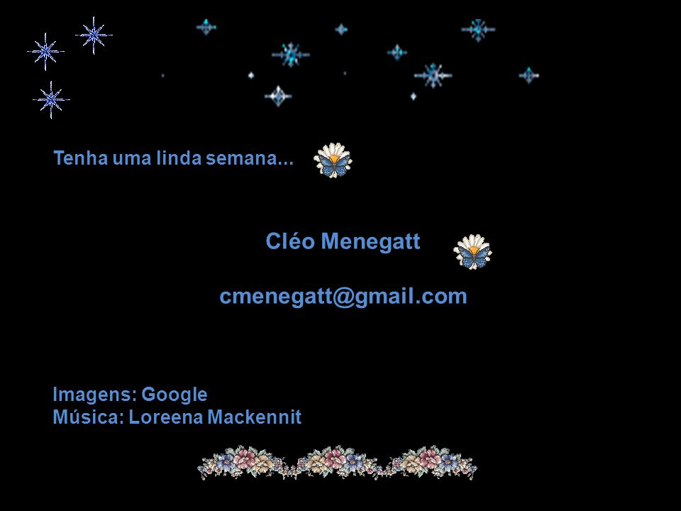Cléo Menegatt cmenegatt@gmail.com
