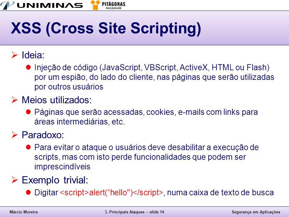 XSS (Cross Site Scripting)