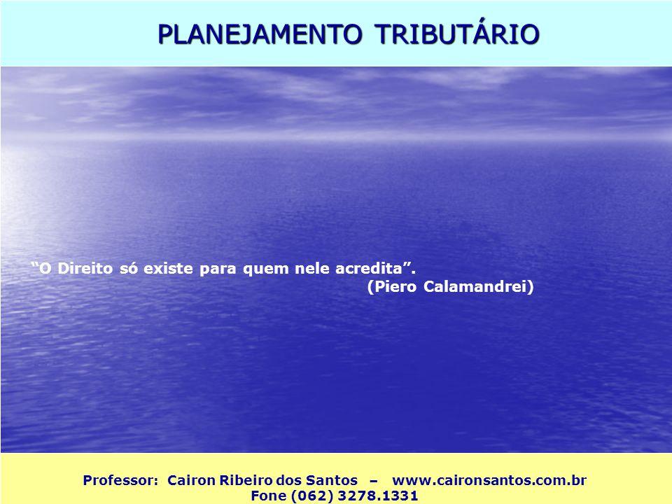 Professor: Cairon Ribeiro dos Santos – www.caironsantos.com.br