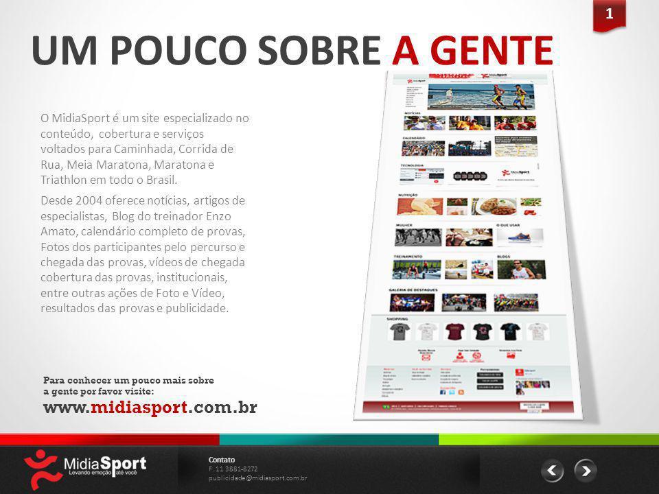 UM POUCO SOBRE A GENTE www.midiasport.com.br 1