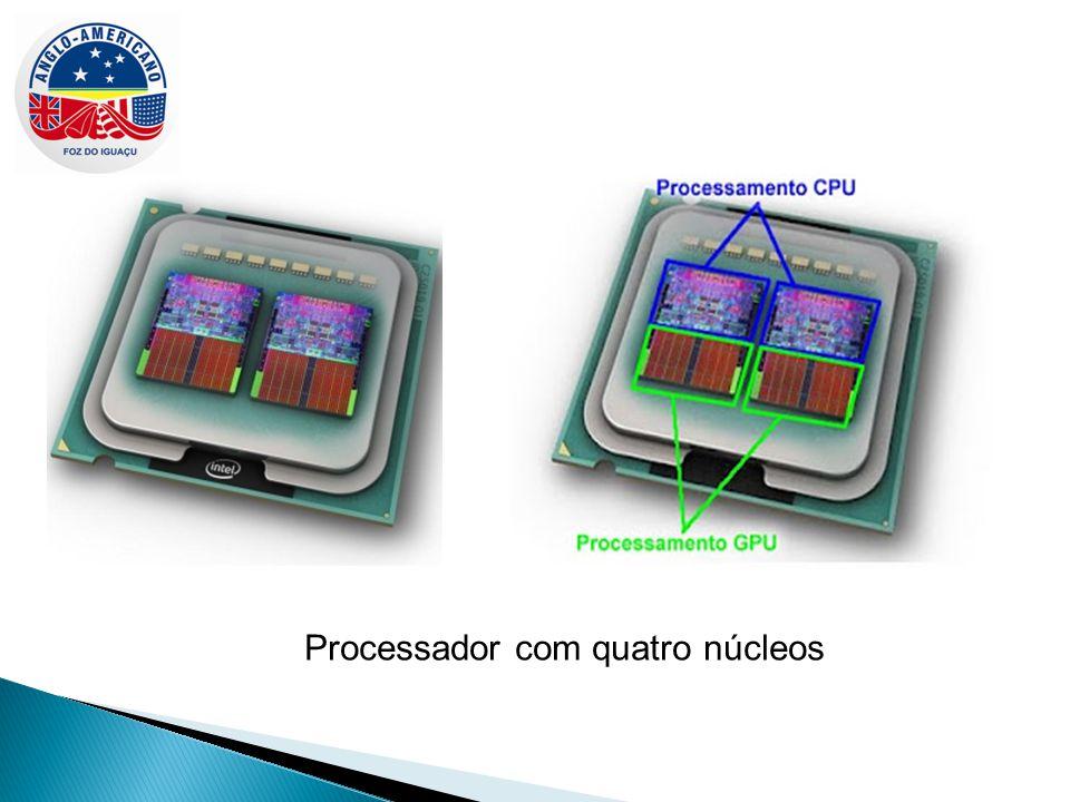 Processador com quatro núcleos