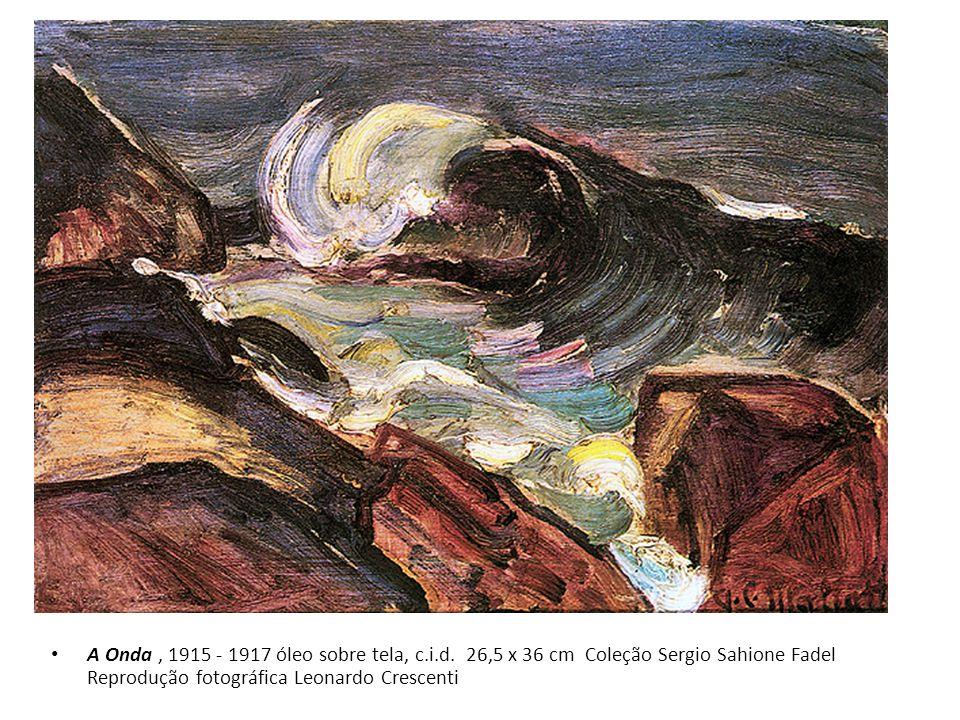 A Onda , 1915 - 1917 óleo sobre tela, c. i. d