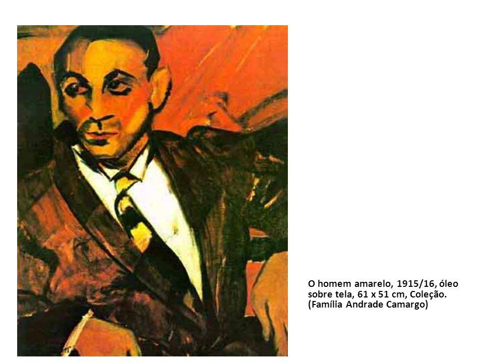 O homem amarelo, 1915/16, óleo sobre tela, 61 x 51 cm, Coleção