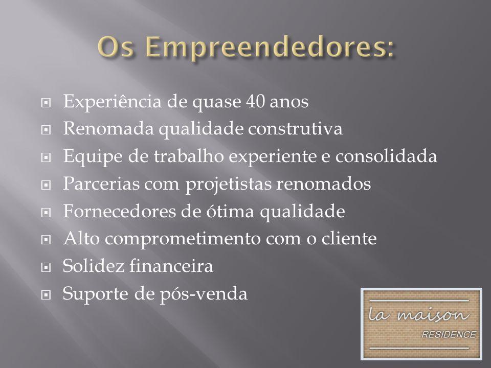 Os Empreendedores: Experiência de quase 40 anos