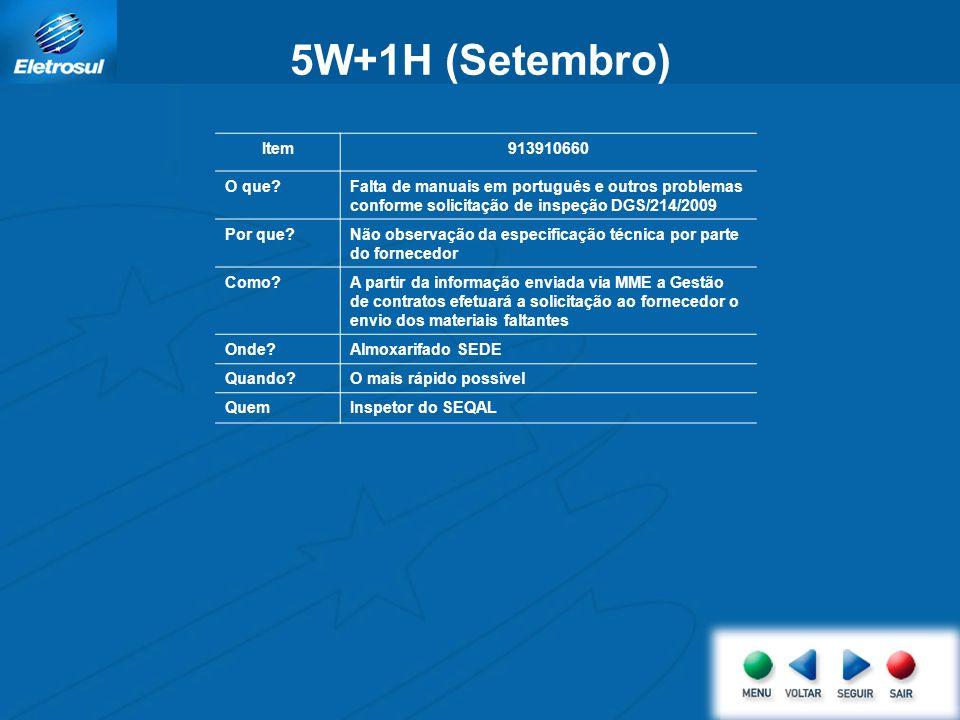 5W+1H (Setembro) Item 913910660 O que