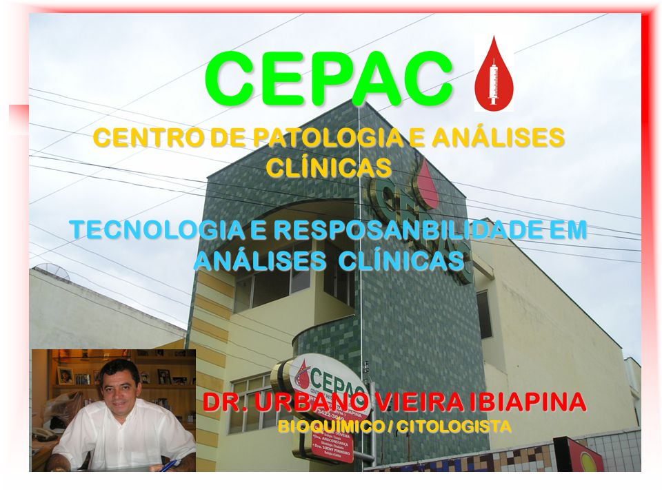 CEPAC CENTRO DE PATOLOGIA E ANÁLISES CLÍNICAS