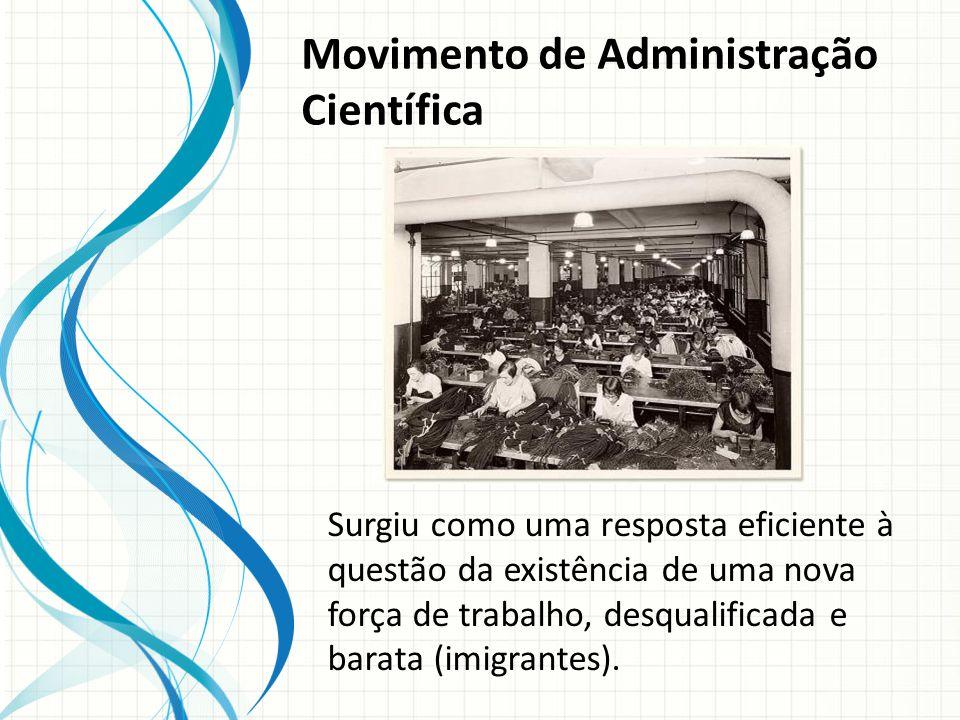 Movimento de Administração Científica