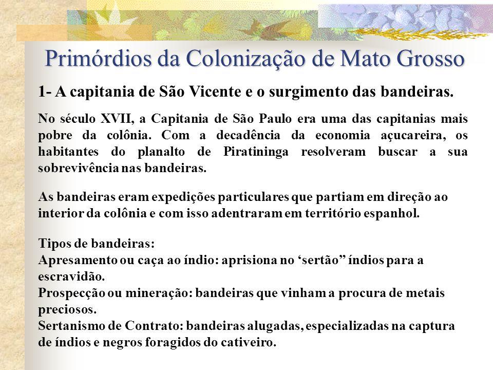 Primórdios da Colonização de Mato Grosso