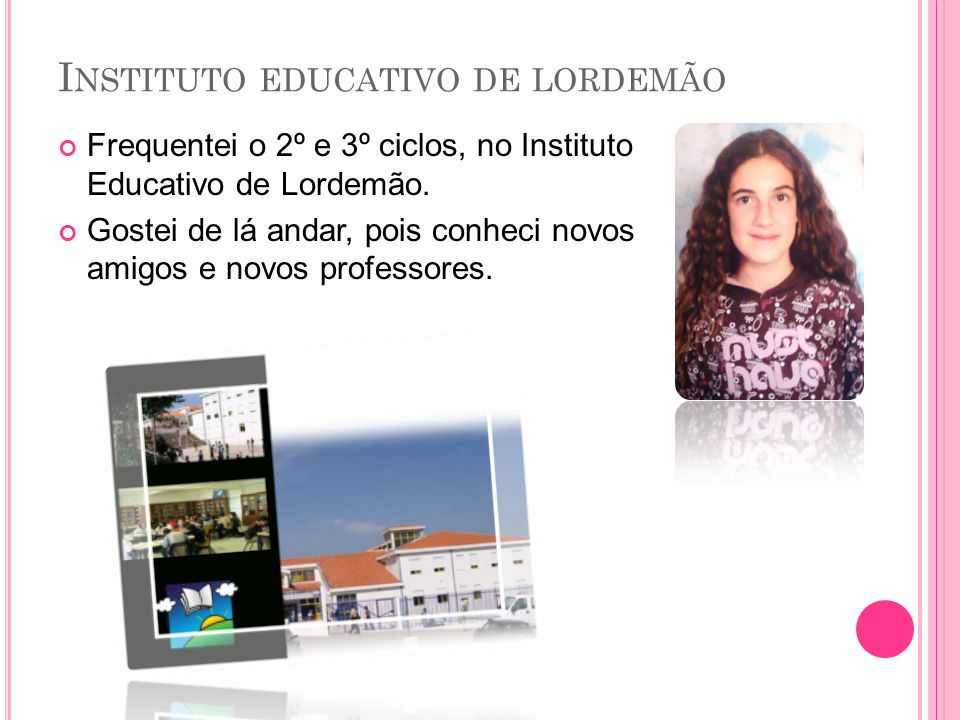 Instituto educativo de lordemão