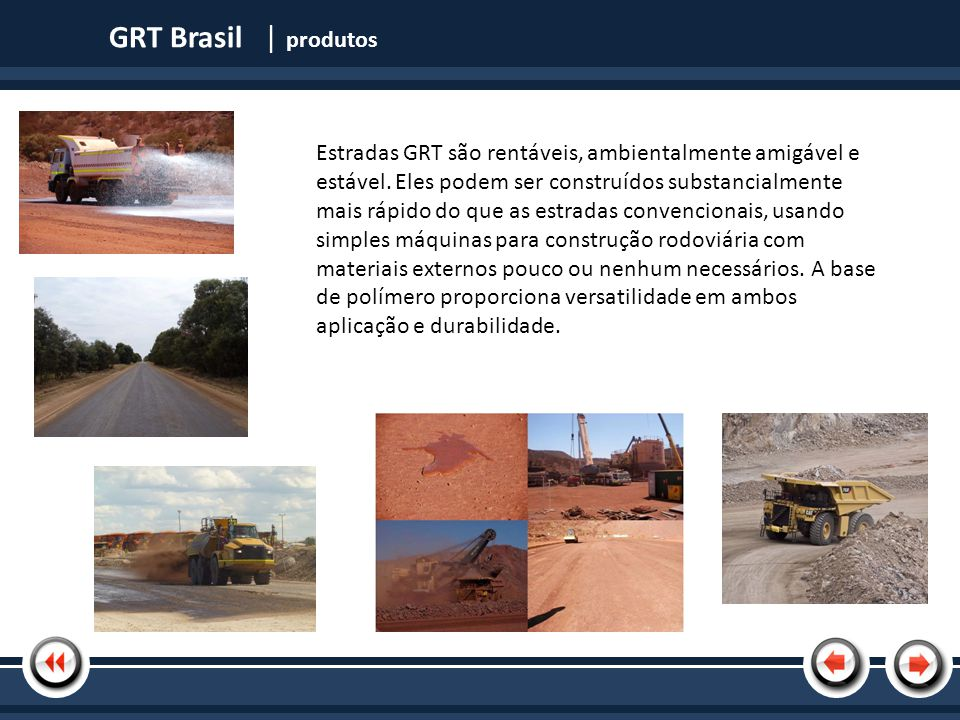 GRT Brasil | produtos