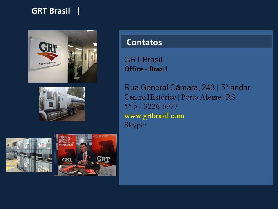Contatos GRT Brasil Office - Brazil Rua General Câmara, 243 | 5º andar
