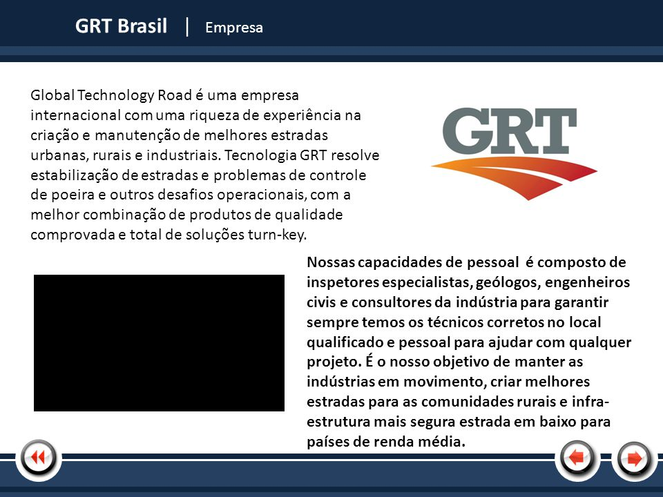GRT Brasil | Empresa | Tópico 1.