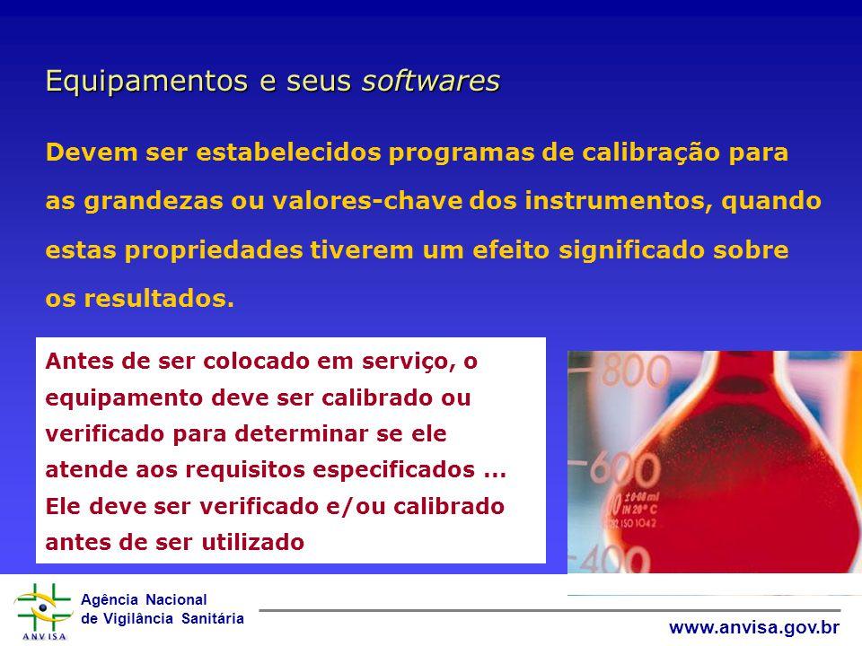 Equipamentos e seus softwares