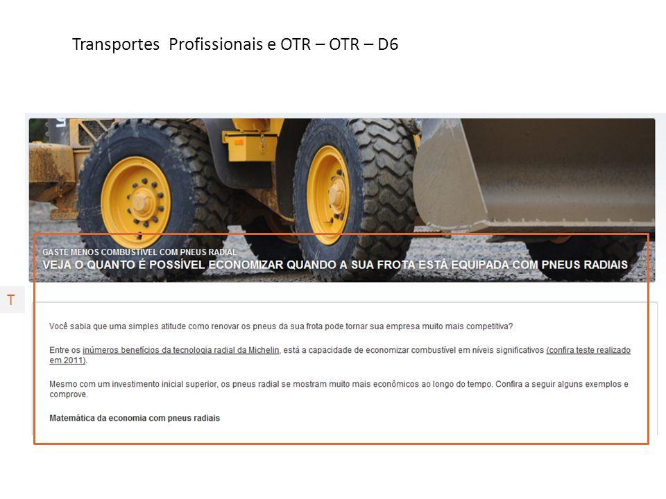 Transportes Profissionais e OTR – OTR – D6