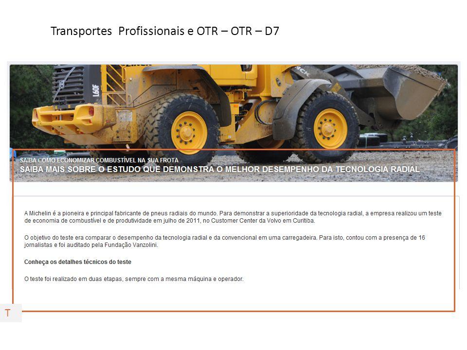 Transportes Profissionais e OTR – OTR – D7