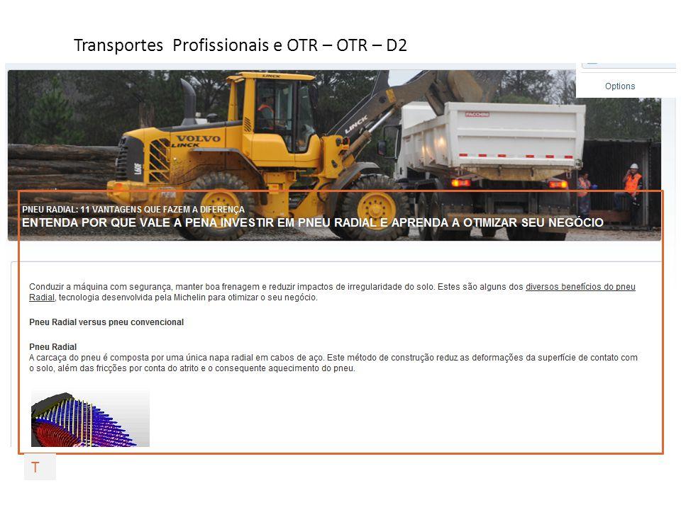 Transportes Profissionais e OTR – OTR – D2