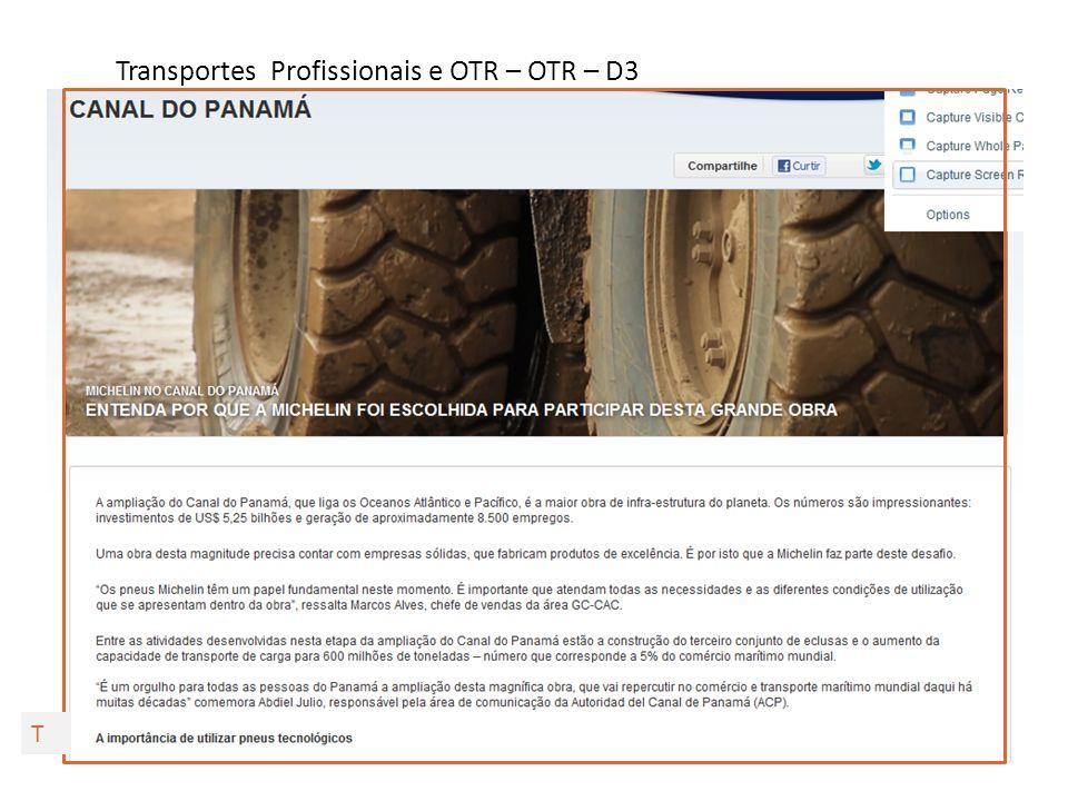 Transportes Profissionais e OTR – OTR – D3