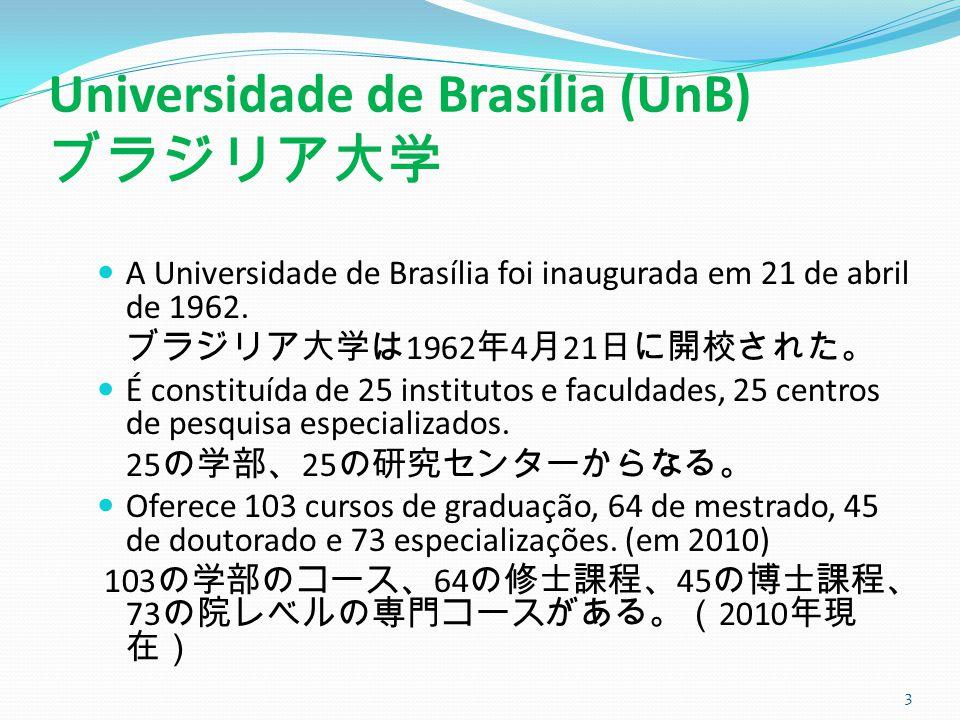 Universidade de Brasília (UnB) ブラジリア大学