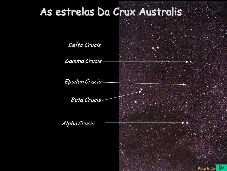 As estrelas Da Crux Australis