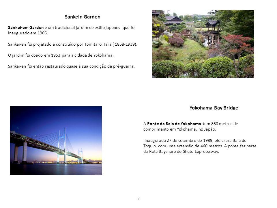 Yokohama Bay Bridge Sankein Garden