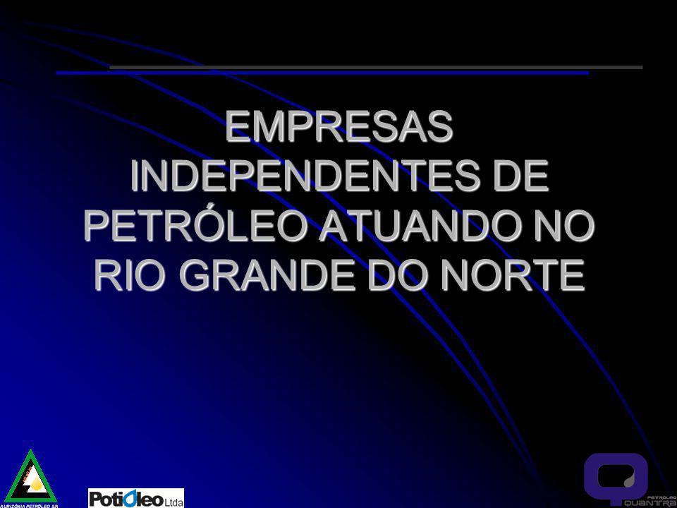 EMPRESAS INDEPENDENTES DE PETRÓLEO ATUANDO NO RIO GRANDE DO NORTE