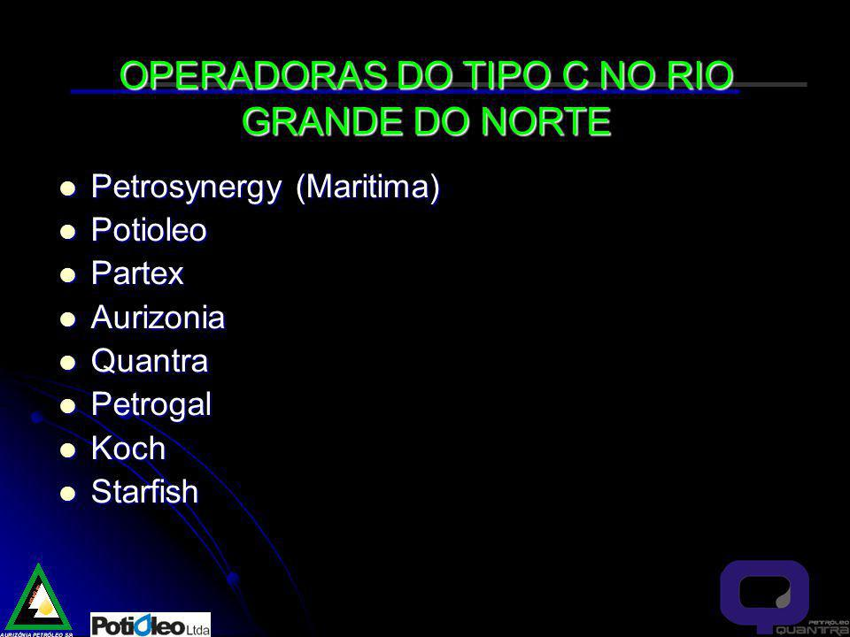 OPERADORAS DO TIPO C NO RIO GRANDE DO NORTE