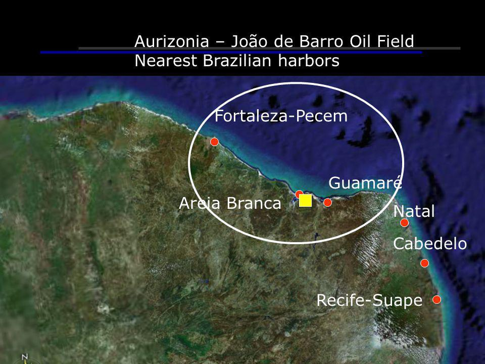 Aurizonia – João de Barro Oil Field