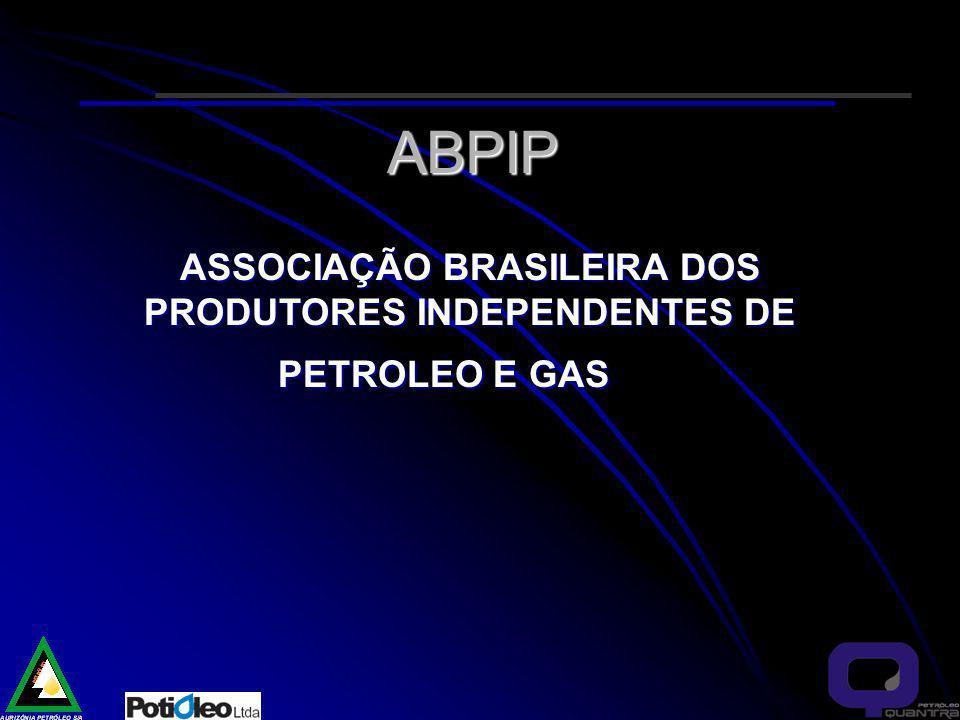 ASSOCIAÇÃO BRASILEIRA DOS PRODUTORES INDEPENDENTES DE PETROLEO E GAS