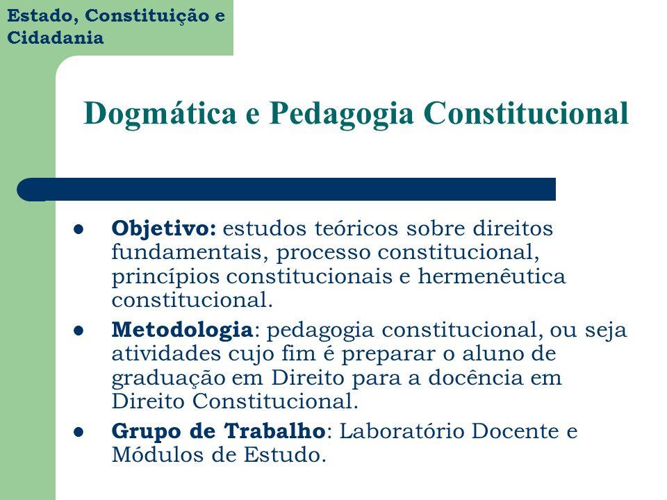 Dogmática e Pedagogia Constitucional