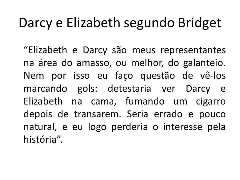 Darcy e Elizabeth segundo Bridget