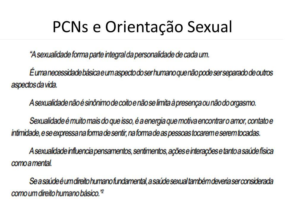 PCNs e Orientação Sexual