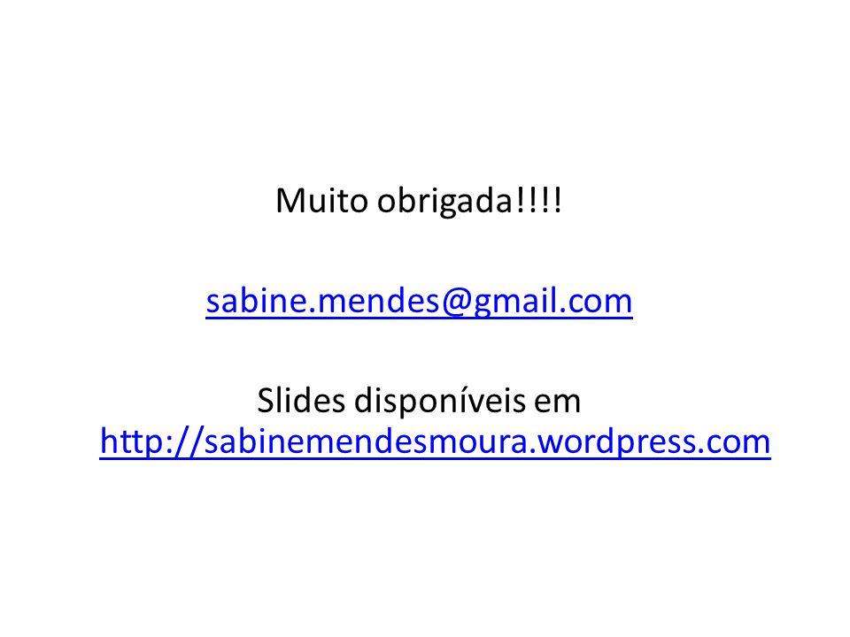 Muito obrigada. sabine. mendes@gmail