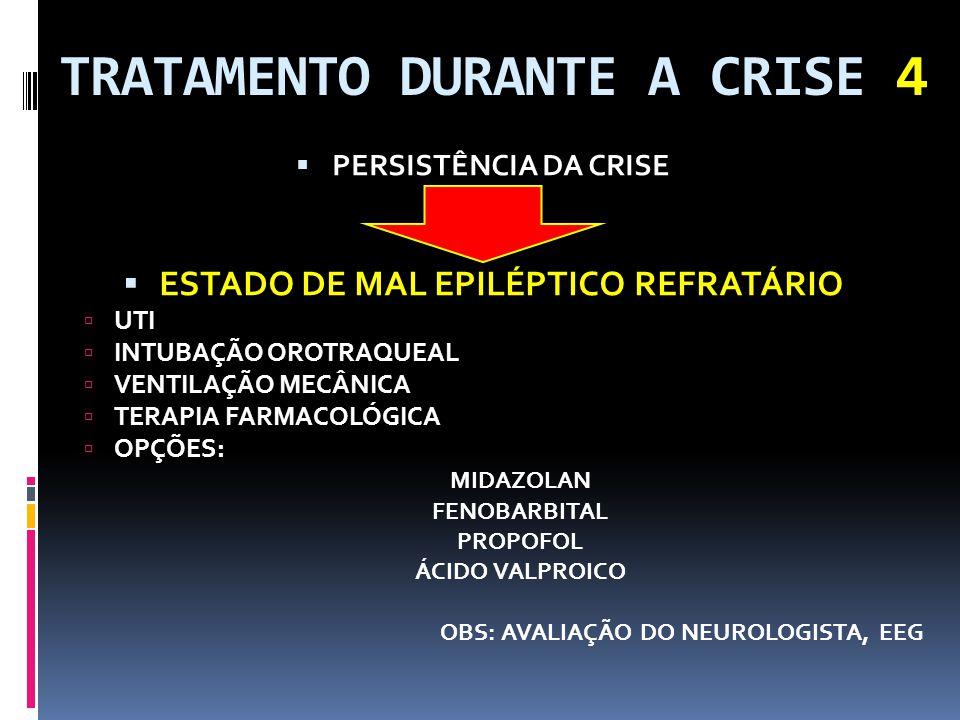 TRATAMENTO DURANTE A CRISE 4