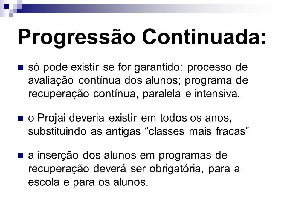 Progressão Continuada: