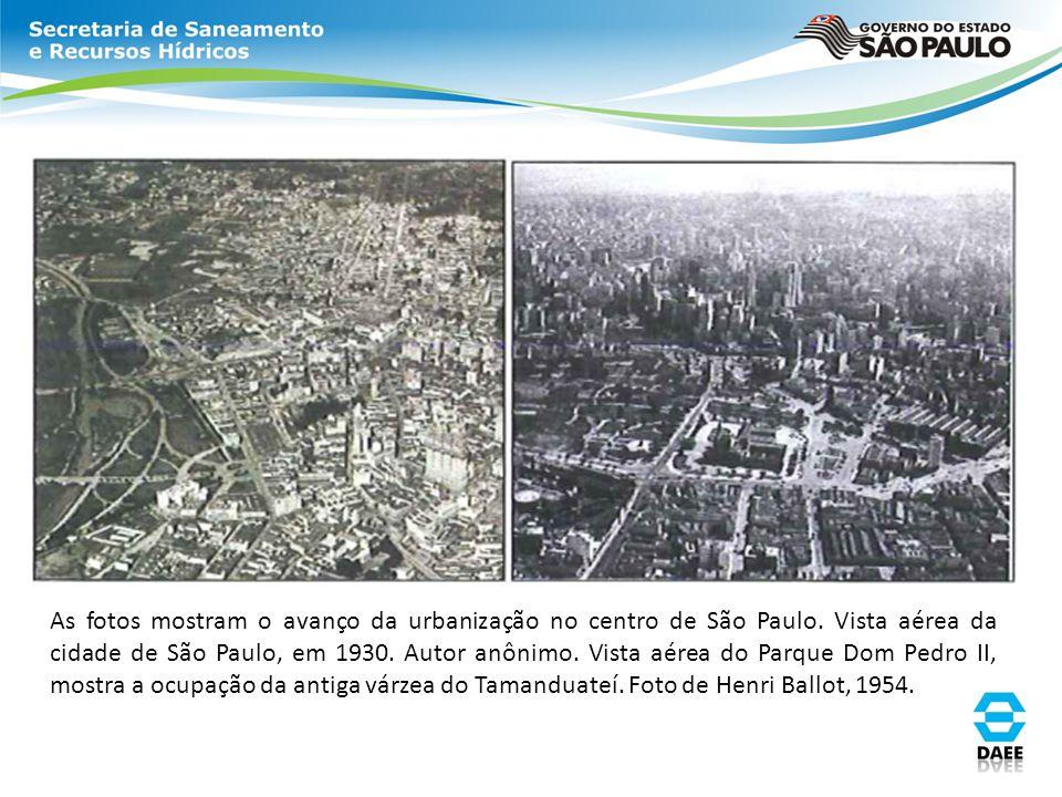 As fotos mostram o avanço da urbanização no centro de São Paulo